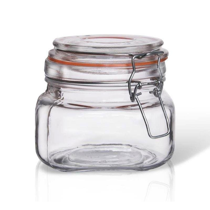 Słoik / pojemnik szklany patentowy BELA 0,5l
