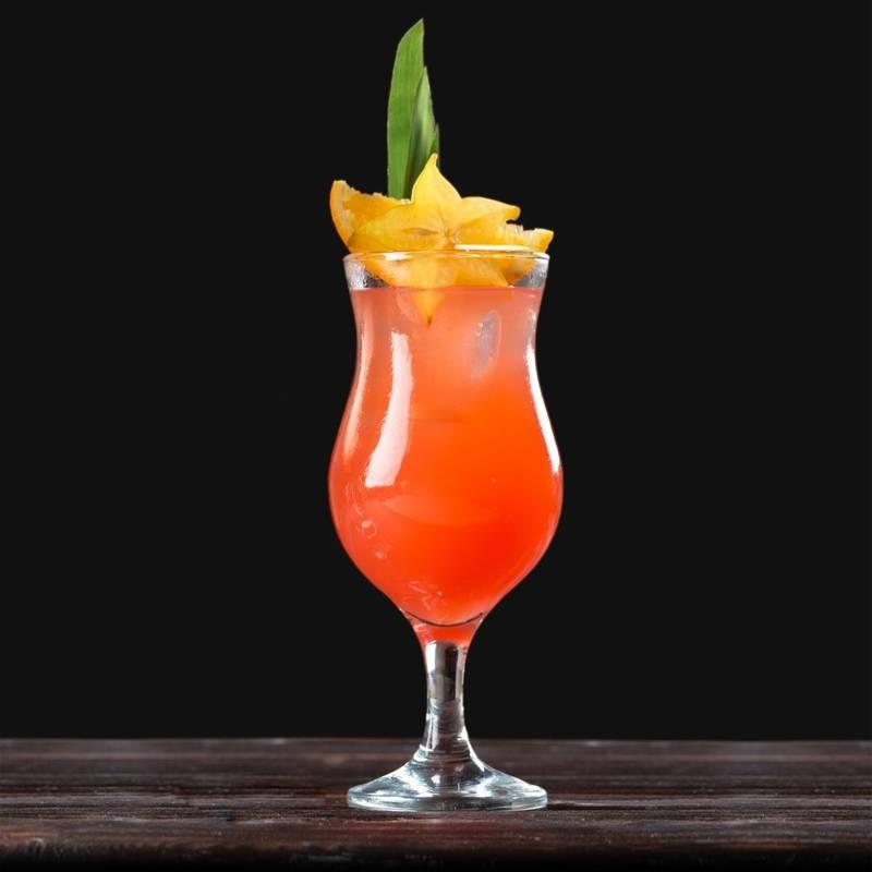 Szklanka FIESTA na nóżce do drinków koktajli deserów zestaw komplet szklanek 460 ml 6 sztuk