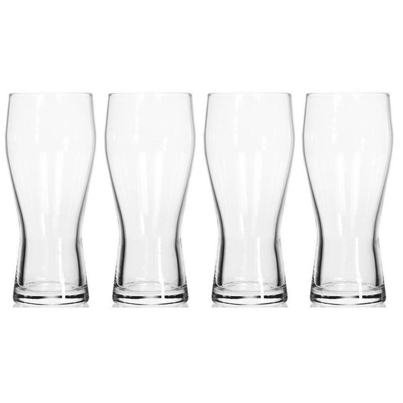 Szklanka do PIWA szklanki zestaw szklanek 400ml 4 szt
