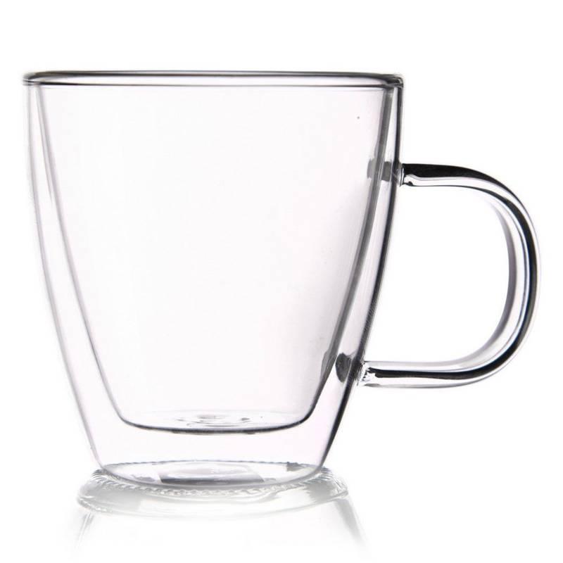 Szklanka termiczna z podwójną ścianką do KAWY 0,18