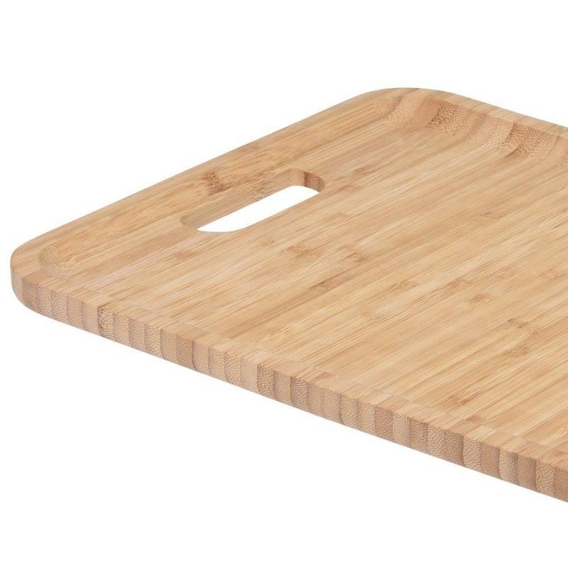 Taca BAMBUSOWA do serwowania talerz drewniany 43x28cm