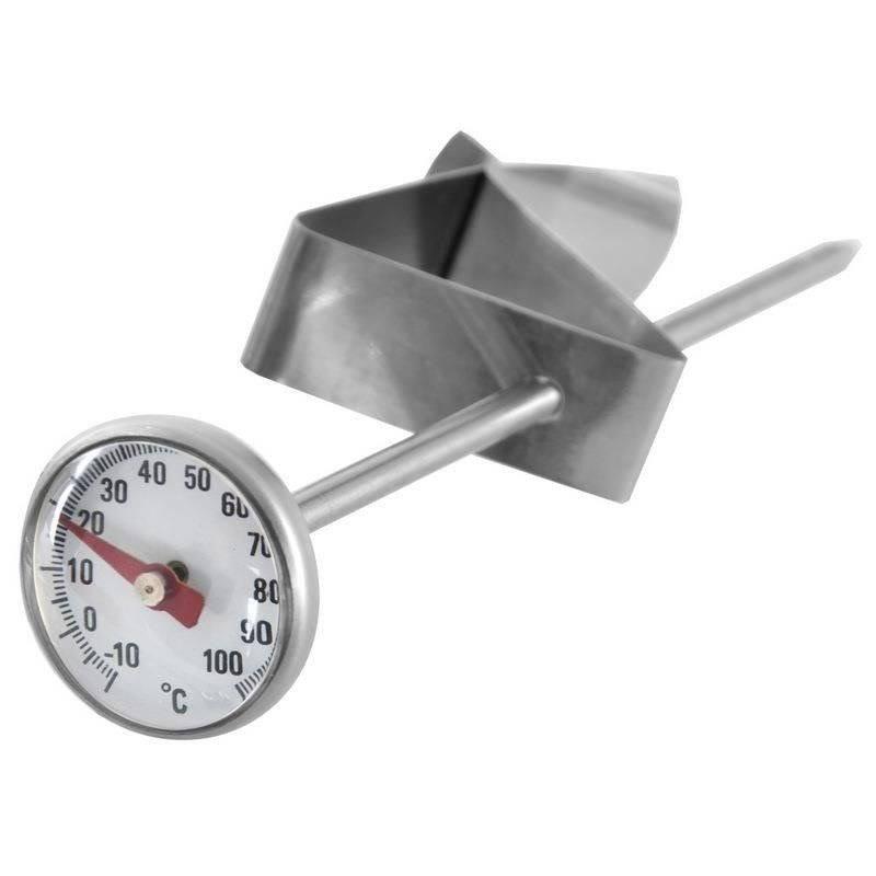 Termometr kuchenny z klipsem do mięsa zupy mleka herbaty yerba mate