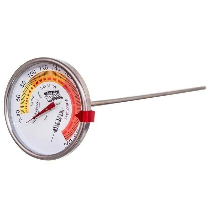 Termometr szpikulec do drzwi wędzarni wędzenia mięsa ryb 33 cm