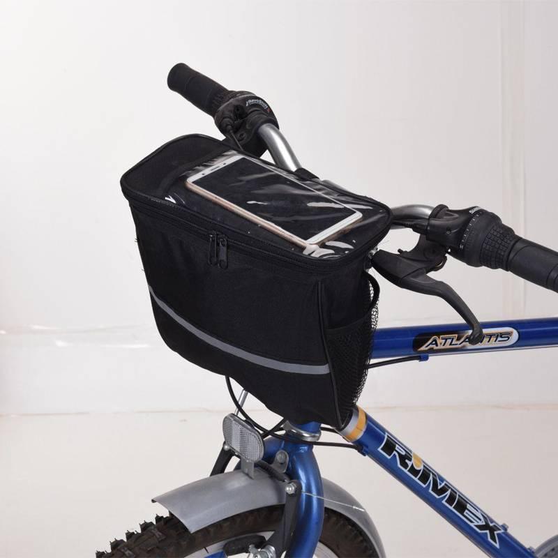 Torba na rower, kierownicę, rowerowa, sakwa, wodoodporna, etui na telefon, smartphone, 5 l