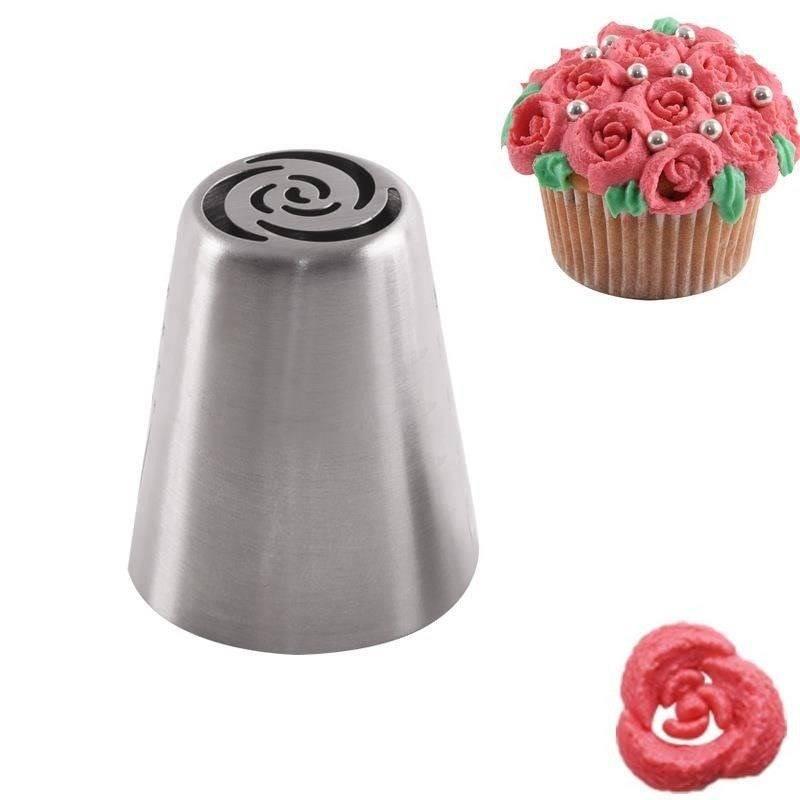 Tylka ROSYJSKA cukiernicza stalowa końcówka do dekoracji ROŻE