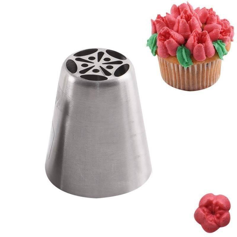 Tylka ROSYJSKA cukiernicza stalowa końcówka do dekoracji TULIPAN