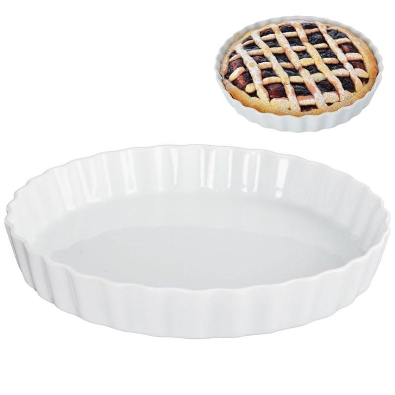 Coajă de tartă ceramică, coajă de tartă, tavă de copt, 25 cm
