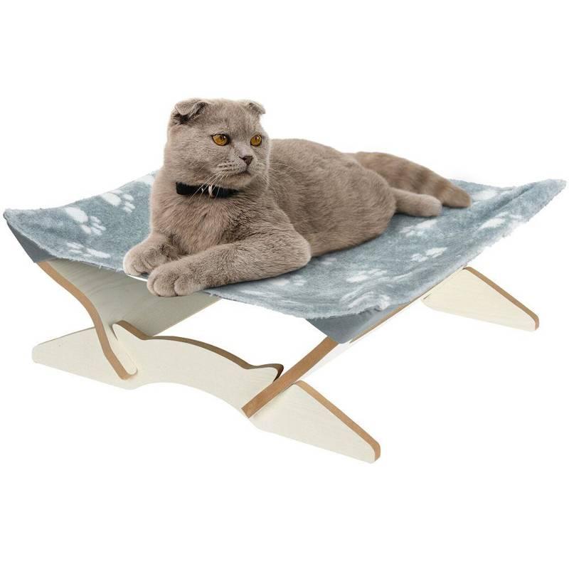 Lair, pat pentru pisici, pernă, covor 43x43 cm