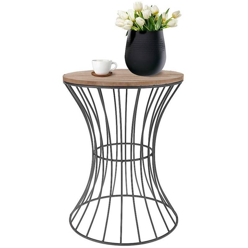 Masă metalică, negru, sârmă, cafea, coș, coș de cafea, mansardă, suport, bază de ghiveci de flori, pat de flori